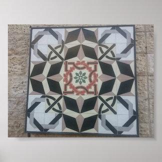 The Jerusalem tiles Poster