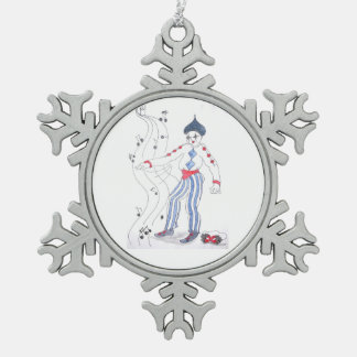 The Jester Speaks Ornament