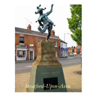 The Jester Stratford upon Avon postcard
