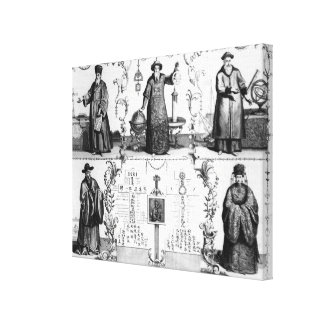 The Jesuits in China Canvas Print