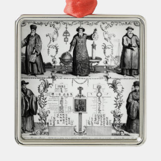 The Jesuits in China Christmas Ornament