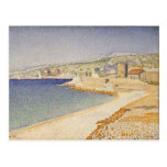 The Jetty at Cassis, Opus 198 - Paul Signac Postcards