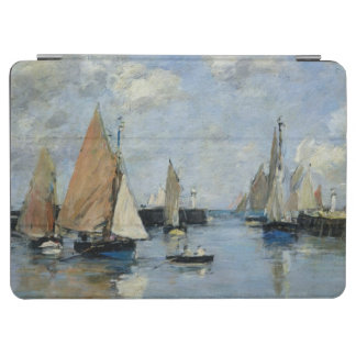 The Jetty at High Tide, Trouville iPad Air Cover