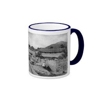 The Jetty, Plymouth, Montserrat. Ringer Mug