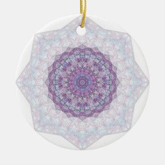 """The Jewel Inside"" Mandala Round Ceramic Decoration"