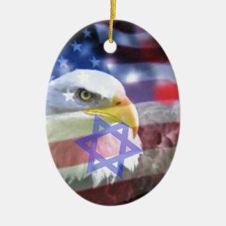 The Jewish American. Christmas Ornament