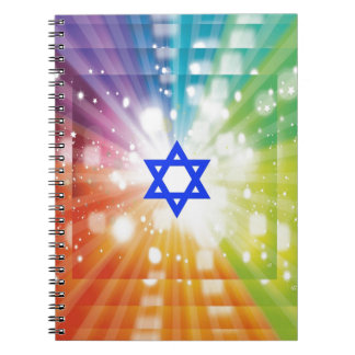 The Jewish burst of lights. Note Books