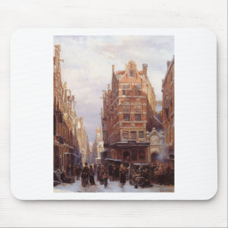 The Jewish quarter in Amsterdam Cornelis Springer Mouse Pad