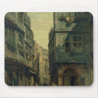 The Jewish Quarter in Frankfurt, 1883 Mouse Pad