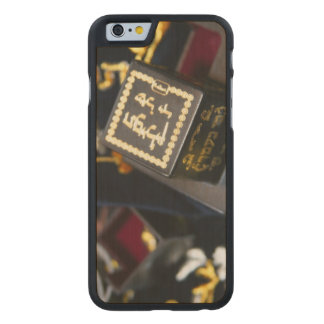 The Jewish religion.Tefilin Carved Maple iPhone 6 Case