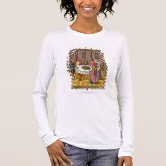 The Jews' Passover, facsimile of a 15th century mi Long Sleeve T-Shirt