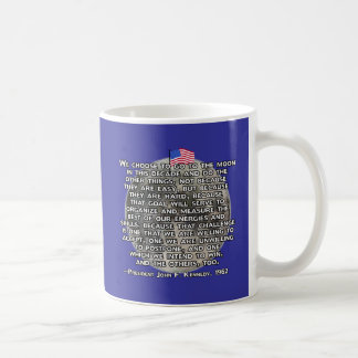 The JFK Quote That Sent Humans to the Moon Coffee Mug