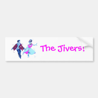 The Jivers Bumper Stickers