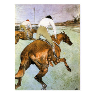 The Jockey 2 by Toulouse-Lautrec Postcard