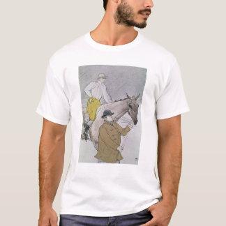 The jockey led to the start T-Shirt