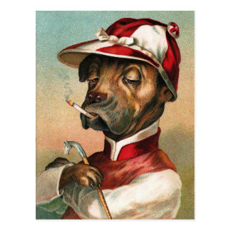 The Jockey Postcard