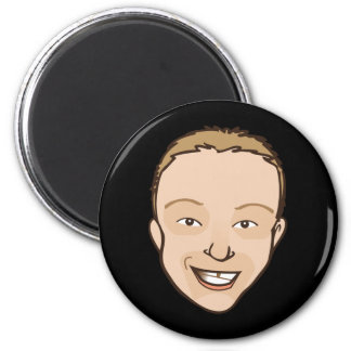 The Joel 6 Cm Round Magnet