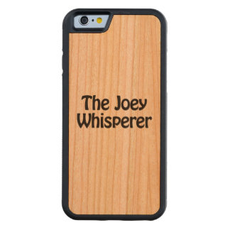 the joey whisperer cherry iPhone 6 bumper