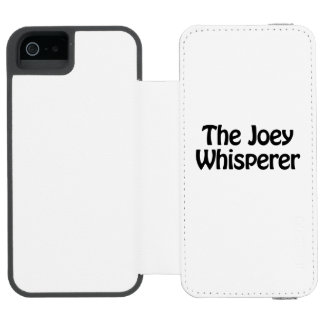 the joey whisperer incipio watson™ iPhone 5 wallet case