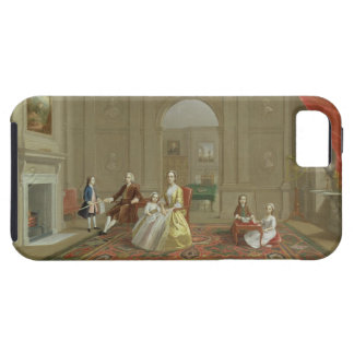 The John Bacon Family, c.1742-43 (oil on canvas) iPhone 5 Covers
