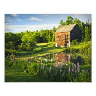 The John Brown Farm in the Adirondacks, N.Y. Art Photo