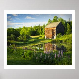 The John Brown Farm in the Adirondacks, N.Y. Poster