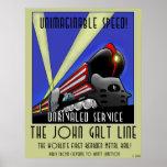 The John Galt Line Poster