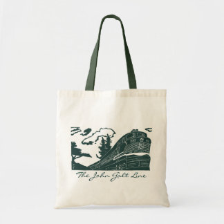The John Galt Line Shopping Tote Budget Tote Bag