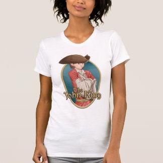 The John King - Ladies White T-Shirt