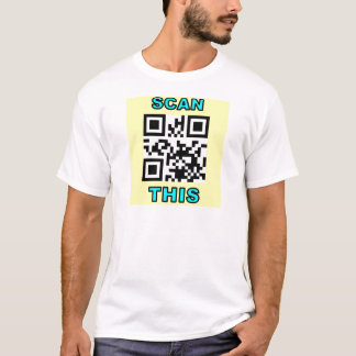 THE JOKE IS ON YOU (Qr Message Code Product) T-Shirt