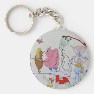 The Joke Retold Key Ring