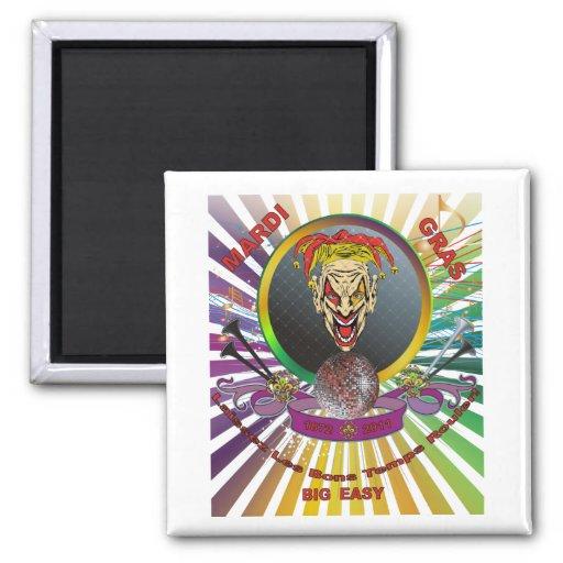 The-Joker-1-Mardi-Gras-Match-set-Trans Fridge Magnet