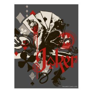 The Joker - 4 Aces Bleeding Heart Devil Postcard