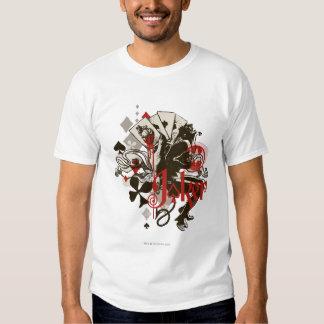 The Joker - 4 Aces Bleeding Heart Devil Tee Shirt