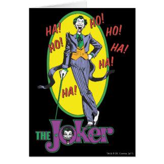 The Joker Cackles 2 Card