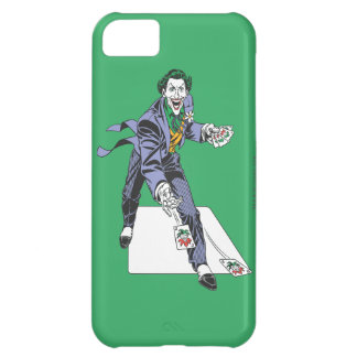 The Joker Casts Cards iPhone 5C Case