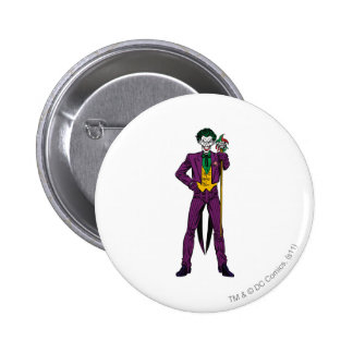 The Joker Classic Stance 6 Cm Round Badge