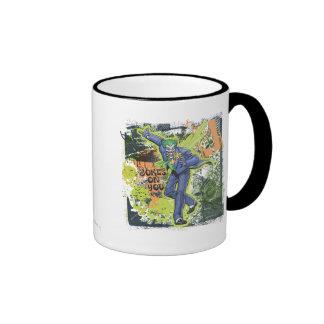 The Joker Collage Ringer Mug