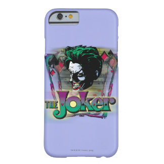The Joker - Face and Logo Barely There iPhone 6 Case