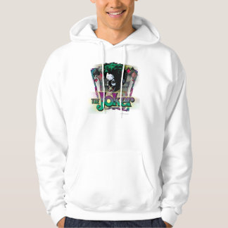 The Joker - Face and Logo Hoodie