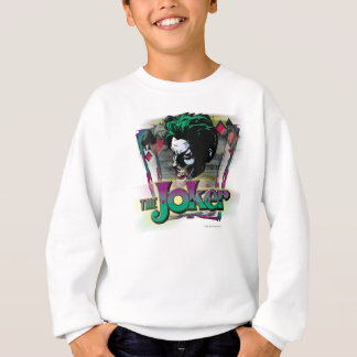 The Joker - Face and Logo Sweatshirt