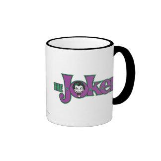 The Joker Logo Ringer Mug