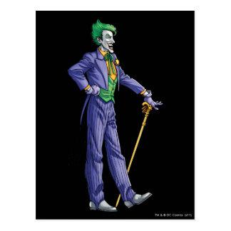 The Joker Looks right Postcard