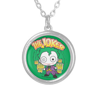 The Joker - Mini Silver Plated Necklace