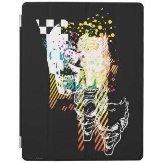 The Joker Neon Montage iPad Cover