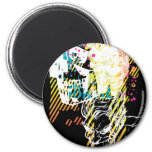 The Joker Neon Montage Magnet