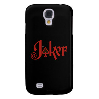 The Joker Playing Card Logo Galaxy S4 Case