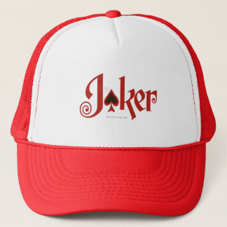 The Joker Playing Card Logo Trucker Hat