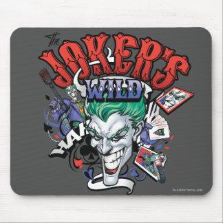 The Joker s Wild Mousepads