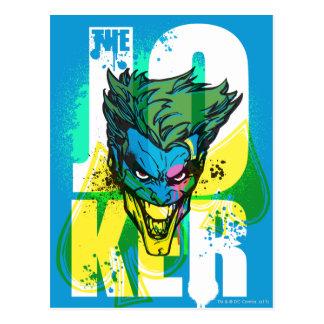 The Joker Spades Postcard
